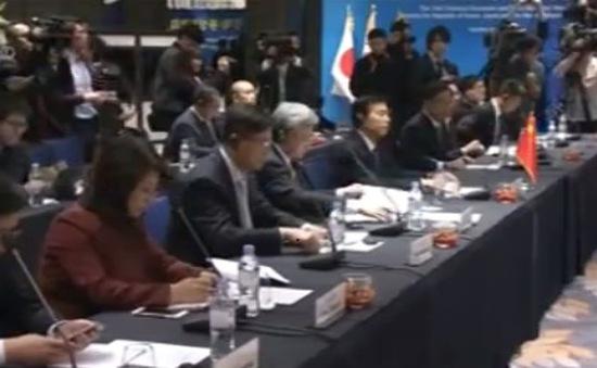Trung, Nhật, Hàn tổ chức Hội nghị cấp Bộ trưởng Thương mại