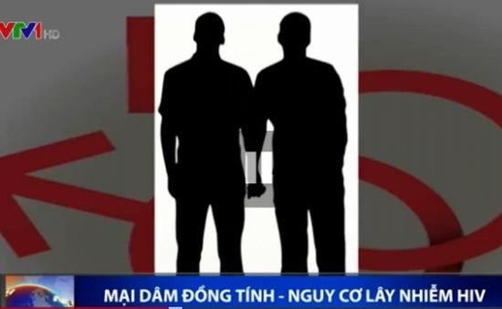 Gia tăng tình trạng nhiễm HIV từ mại dâm đồng tính