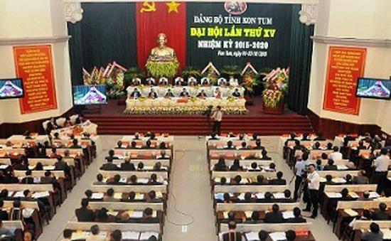 Đại hội Đảng bộ tỉnh Bắc Giang và Kon Tum