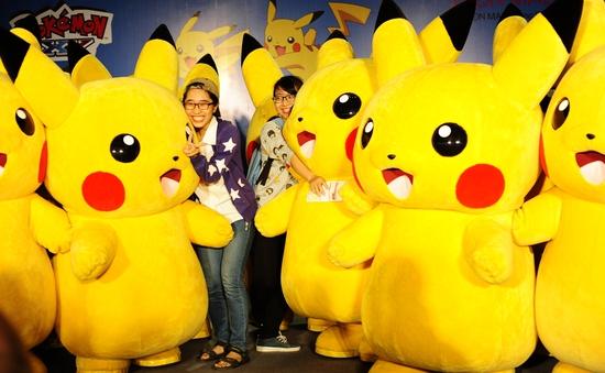 Tưng bừng lễ hội Pikachu lần đầu tiên ở Hà Nội