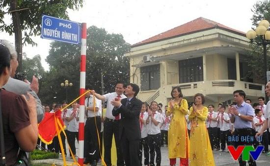 Hà Nội có thêm 2 đường mới mang tên Trịnh Công Sơn và Nguyễn Đình Thi