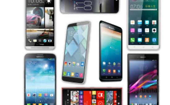 Điểm danh những smartphone màn hình siêu khủng