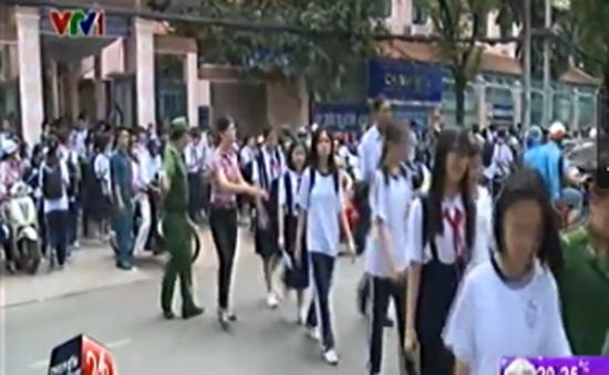 TP.HCM thí điểm đưa đón học sinh bằng xe buýt
