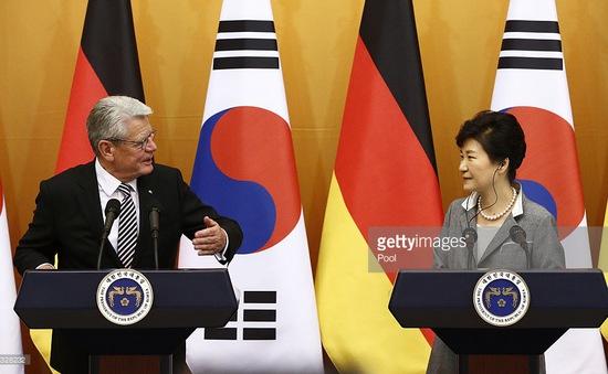 Tổng thống Đức thăm chính thức Hàn Quốc