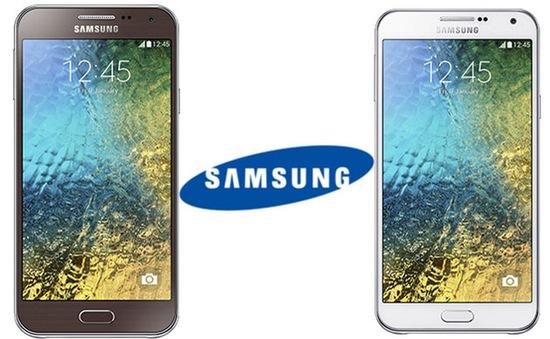Samsung ra mắt bộ đôi Galaxy E5 - E7