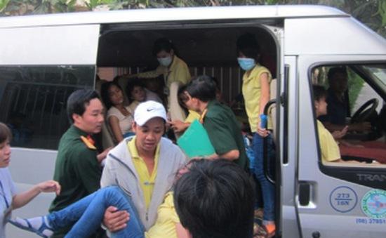 Tiền Giang: Hơn 200 công nhân nhập viện sau bữa ăn
