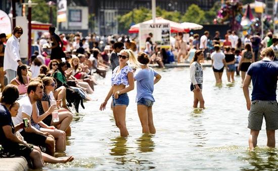 Nắng nóng trên 40 độ C ở một loạt nước châu Âu