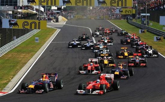 Gay cấn giải đua F1 Hungarian GP trên kênh Fox Sports