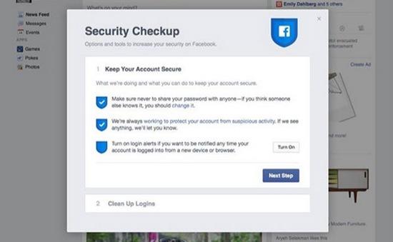 Facebook ra tính năng giúp người dùng tránh bị hack tài khoản