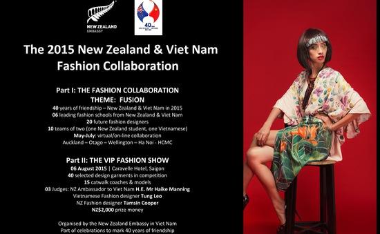 Sinh viên Việt Nam- New Zealand kết nối sáng tạo qua thời trang