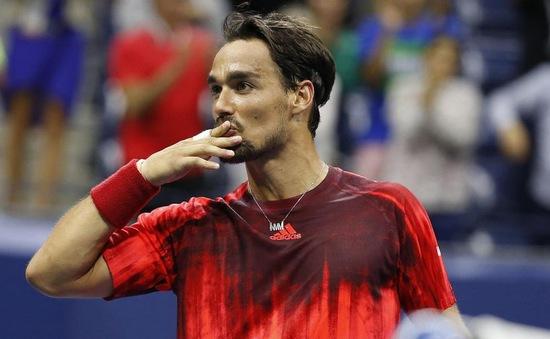 Fognini lâng lâng như trên mây sau khi hạ Nadal