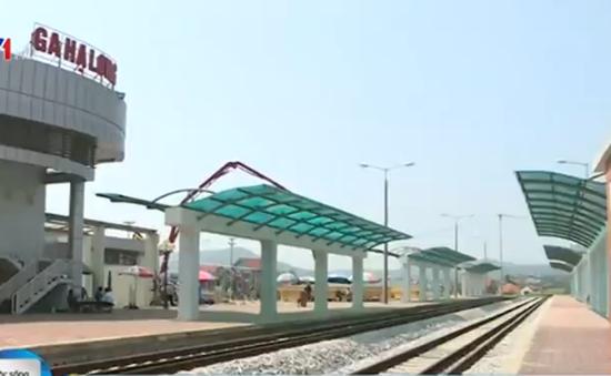 Quảng Ninh: Nhà ga hàng nghìn tỷ chỉ đón 1 chuyến tàu/ngày