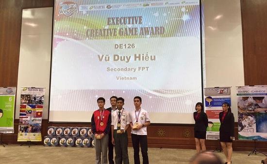 Học sinh Việt Nam dành giải Nhất cuộc thi lập trình quốc tế 2015