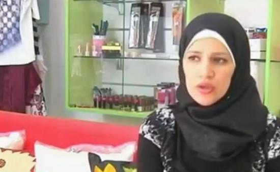 Quán cà phê dành cho nữ giới ở dải Gaza