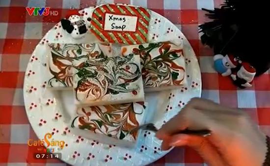 Xà phòng handmade - Món quà Giáng sinh đặc biệt