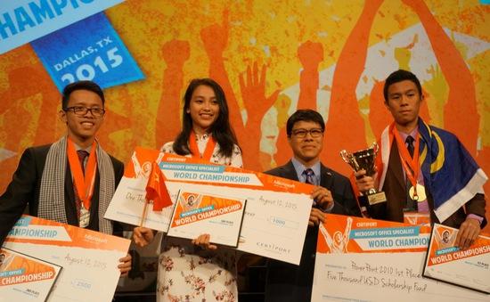 Nguyễn Thị Hiền Gia giành HCĐ tại cuộc thi Tin học văn phòng thế giới