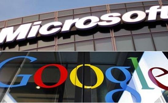 Google và Microsoft ký thỏa thuận ngừng kiện tụng