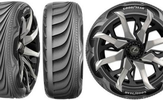 Goodyear ra mắt lốp xe tự điều chỉnh áp suất hơi theo điều kiện đường