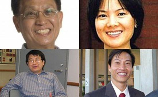 4 Giáo sư Việt Nam lọt top các nhà khoa học ảnh hưởng nhất năm 2015