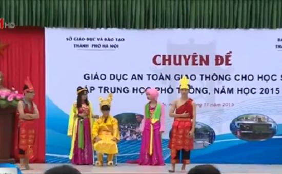 Hà Nội: Triển khai giáo dục ý thức tham gia giao thông cho học sinh