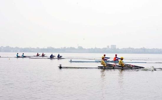 Giải Rowing & Canoeing VĐQG 2015: Đà Nẵng và Hà Nội cùng giành 3 HCV