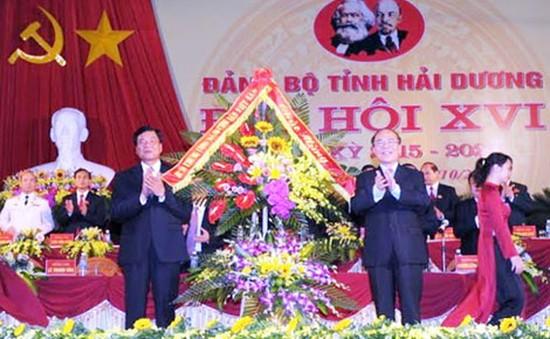 Khai mạc Đại hội Đảng bộ tỉnh Hải Dương
