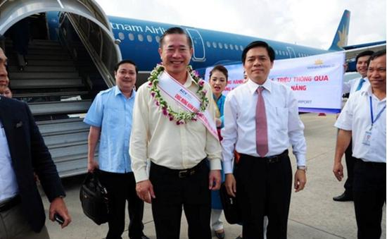 Cảng hàng không quốc tế Đà Nẵng đón vị khách thứ 6 triệu