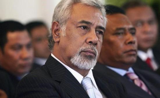 Tổng thống Timor Leste chấp thuận đơn từ chức của Thủ tướng Gusmao