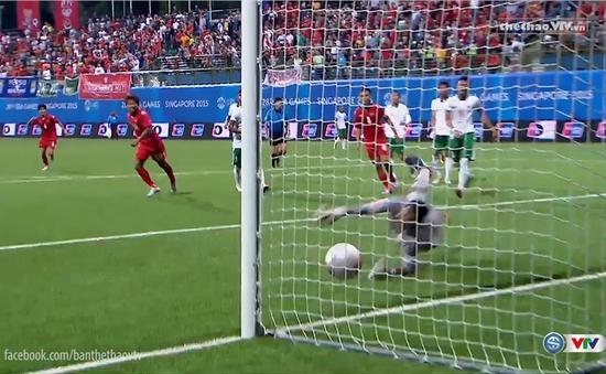 U23 Myanmar giành chiến thắng thuyết phục trước U23 Indonesia