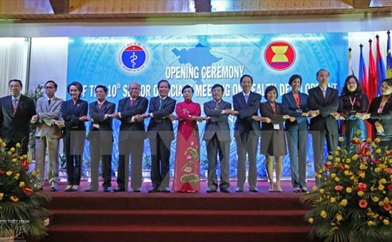Sáng nay (16/9), họp phiên bế mạc Hội nghị các Quan chức Cao cấp Y tế ASEAN