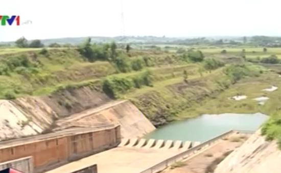 Hàng trăm hồ, đập tại Đăk Lăk cạn nước