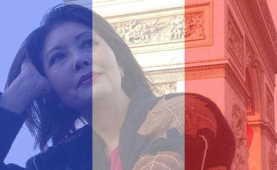 """Danh ca Họa Mi hát 'Tuyết rơi"""" tri ân nước Pháp"""