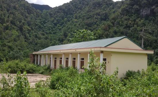 Sơn La: Công trình tái định cư hàng tỷ đồng bị bỏ hoang