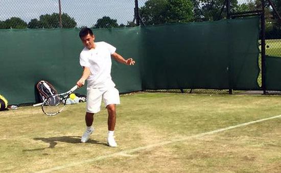 Lý Hoàng Nam chia tay giải tiền Wimbledon