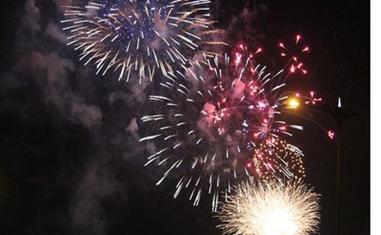 Những màn pháo hoa chào năm mới Ất Mùi
