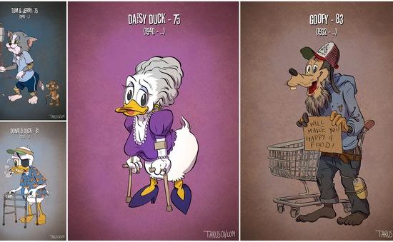 """Khi Tom và Jerry """"nghỉ hưu""""..."""