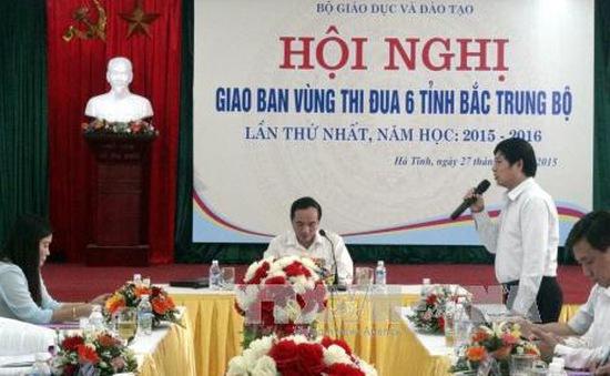 Các tỉnh Bắc Trung Bộ thực hiện đổi mới căn bản, toàn diện giáo dục và đào tạo