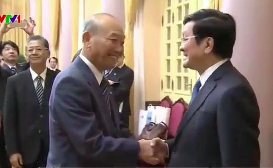 Chủ tịch nước tiếp Hiệp hội xúc tiến Ngoại giao Nhân dân Nhật Bản