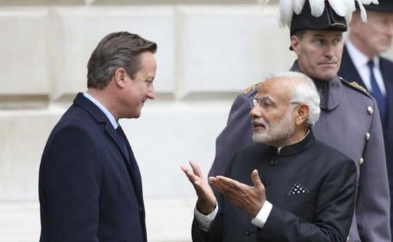 Thủ tướng Ấn Độ hội đàm với Thủ tướng Anh