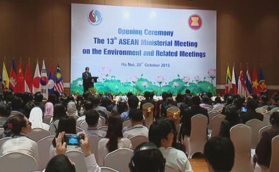 Kết quả của Hội nghị Bộ trưởng Môi trường ASEAN lần thứ 13