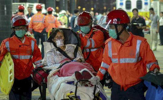 120 người bị thương trong vụ tai nạn đâm phà ở Hong Kong, Trung Quốc