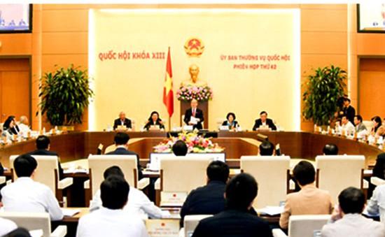 Bế mạc phiên họp 43 Ủy ban Thường vụ Quốc hội
