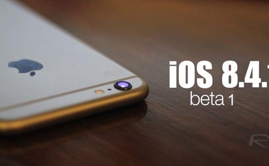 Apple cập nhật bản vá iOS 8.4.1 sửa lỗi ứng dụng nghe nhạc