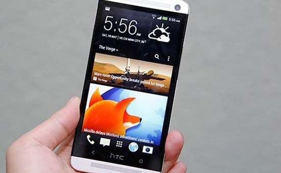 5 smartphone Android phổ biến nhất của HTC