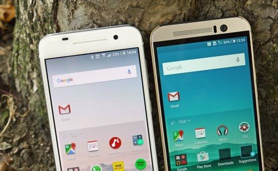 """HTC One A9 """"thoát xác"""" hoàn toàn khỏi thiết kế của M9"""