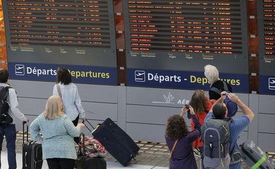 Hoạt động hàng không ở Bỉ ngưng trệ vì sự cố chập điện