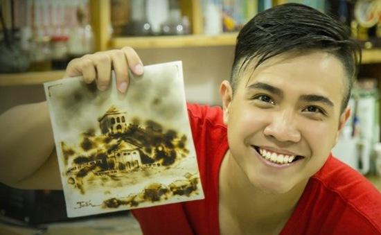 Độc đáo nghệ thuật vẽ tranh bằng lửa