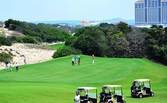 Giải Golf Hồ Tràm Open 2015: Sự khác biệt đến từ một giải Golf quốc tế