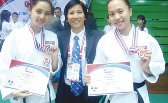 Niềm vui với nghề giáo của VĐV Judo Cao Ngọc Phương Trinh