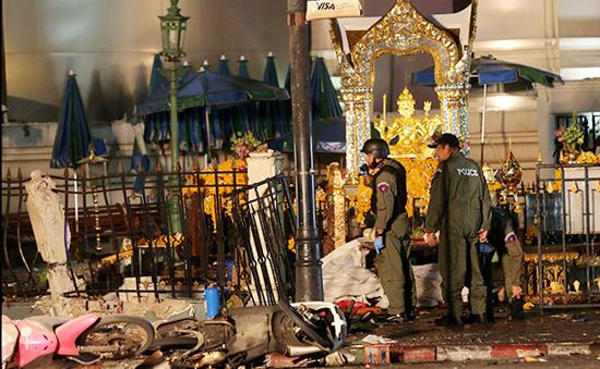 Thái Lan phát lệnh bắt giữ nghi phạm Pakistan trong vụ đánh bom Bangkok